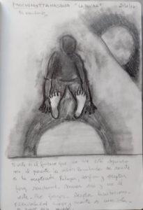 postura de la pinza sentada